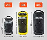 ZBRO Waterproof Dry Bag Backpack with Padded Straps