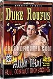 Duke Roufus Muay Thai Full Contact Kickboxing Instrucional 4 DVD set