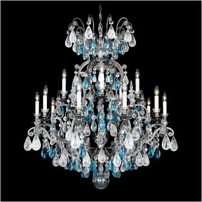 Renaissance Rock Crystal Sixteen Light Chandelier - Renaissance Sixteen Light Chandelier