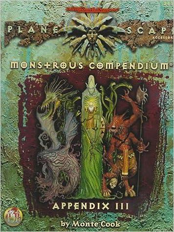 Monstrous Compendium Appendix III Cover