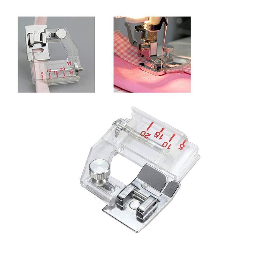 Neue einstellbare Bindung Snap-on Bias Binder Nähfuß für Nähmaschinen