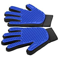 Slip on the Delomo pet grooming glove and keep your pet's coat looking clean and healthy while reducing the hair scattered about the house! Keeping your dog's or cat's coat brushed regularly is important for their...