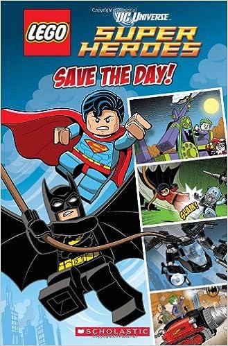 Amazon com: LEGO DC Superheroes: Save the Day (Comic Reader