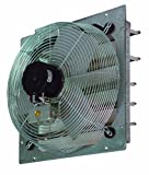 TPI Corporation CE14-DS Direct Drive Exhaust Fan, Shutter Mounted, Single Phase, 14