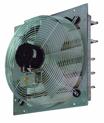 TPI Corporation CE14-DS Direct Drive Exhaust Fan, Shutter Mounted, Single Phase, 14'' Diameter, 120 Volt by TPI