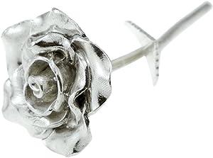 Pirantin Tin Anniversary 10 Year Everlasting Rose - 100% Pure Casted Tin Great Anniversary Idea