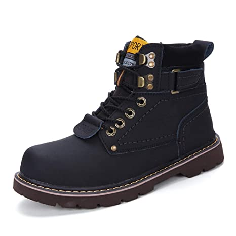 8fe4463b4a9f6 Amazon.com: Giles Jones Combat Boots for Men Autumn Winter Fashion ...