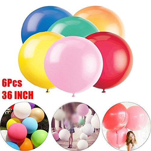 36 Inch 90cm Large Latex Balloons 6Pcs/Set Party Events Supplies Balloons Wedding Valentines Birthday Party DIY Decoration