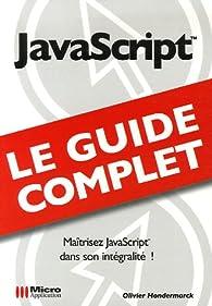 JavaScript par Olivier Hondermarck