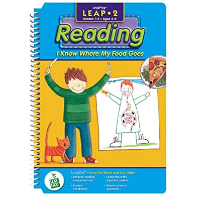 "LeapPad: Leap 2 - ""I Know Where Food Goes"" Interactive Book and Cartridge: Toys & Games"