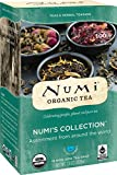 Numi Organic Tea Variety Pack, 16 Bags, Numi's Collection Assorted Teas and Tisanes (Packaging May Vary), Organic Tea Variety Box with Black, Green, White, Pu-erh, Mate, Chai, Rooibos and Herbal Tea