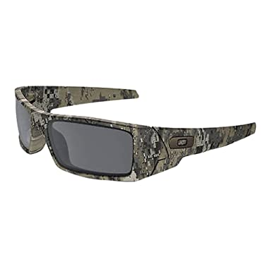 744a91647 Oakley Mens Gascan Sunglasses, Desolve Bare Camo/Black Iridium, One Size