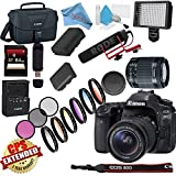 Canon EOS 80D DSLR Camera with 18-55mm Lens USA Model with Warranty Video Bundle For Sale