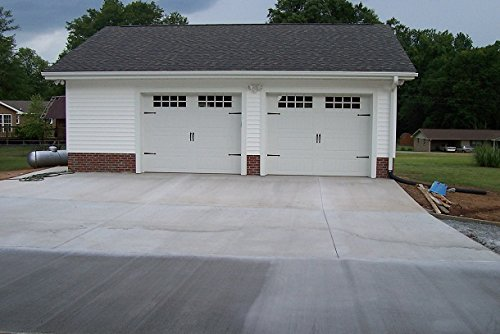 2 Car Garage Floor Coating Kit - Slip Proof and Garage Floor Protection. Professional grade epoxy with optional color chips to customize your garage floor (Garage Coating Professional Floor)