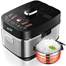 Housmile IH Electric Pressure Rice Cooker, Induction Heating System, 5 Quart