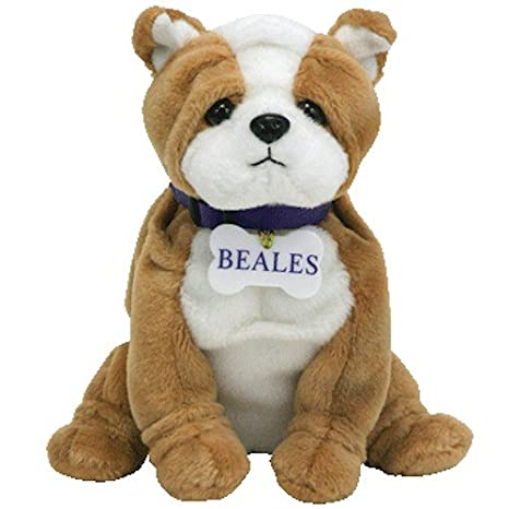 6af37492643 Amazon.com  TY Beanie Baby - BONZER the Bulldog (Beales UK Exclusive)   Thalia Vs Paulina Ru  Toys   Games