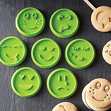 Pampered Chef Emoji Cookie Cutters Sets (Chefs Cookie Cutters)