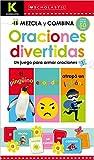 #3: Kindergarten Mezcla y combina: Oraciones divertidas (Scholastic Early Learners) (Spanish Edition)