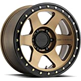 Method Race Wheels Con 6 Bronze/Black Street Lock Wheel (17x8.5''/5x5.5mm, 0mm offset)