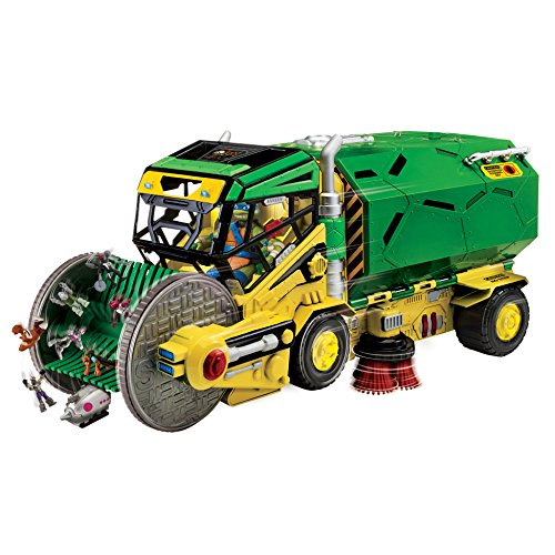Teenage Mutant Ninja Turtles Micro Mutant Sweeper Ops Deluxe Vehicle to Playset]()