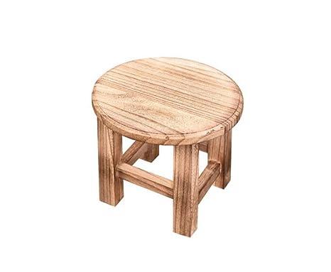 Prendi uno sgabello moda in legno massello piccolo sgabello sgabello