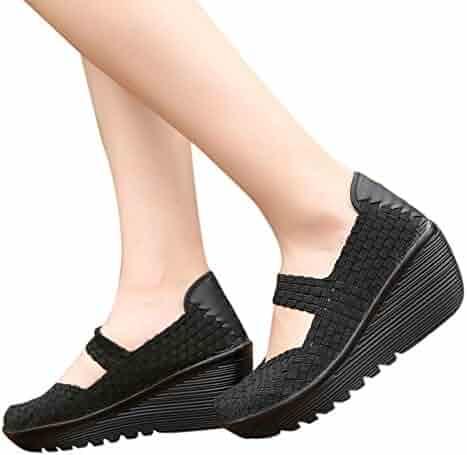 e9fb73d7facf64 Clearance Sale Shoes For Shoes,Farjing Women's Fashion Casual Running Shoes  Flats Shoes Sneaker Weave
