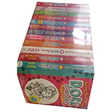 Dork Diaries By Rachel Renee Russell 12 Books Collection Set (Puppy Love, Holiday Heartbreak, TV Star, Pop Star, OMG, Skating Sensation, Party Time, How To Dork Your Diary, Drama Queen, Dear Dork, Once Upon a Dork, Dork Diaries)