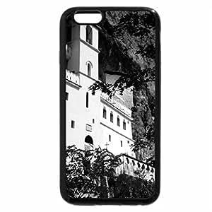 iPhone 6S Plus Case, iPhone 6 Plus Case (Black & White) - Monestory