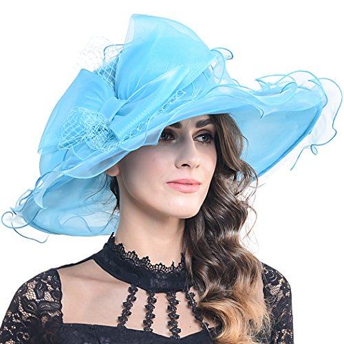 9184d9c4 ... Cocktail Tea Party Bridal Dress Church Hat. By VECRY $$$. 9. rating. Womens  Church Derby Kentucky Flower