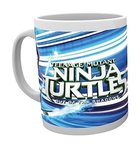 GB Eye Ltd, Tortugas Ninja Movie 2, Turtles, Taza: Amazon.es ...