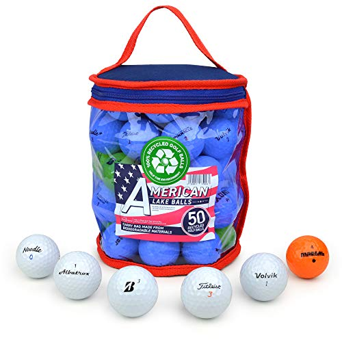 Second Chance Lake Golf Balls with Storage Bag