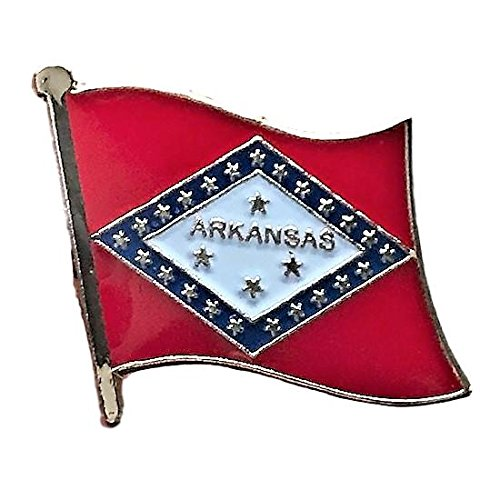 kansas Flag Pin/U.S. State Lapel Pins Collection (AR, 0.75