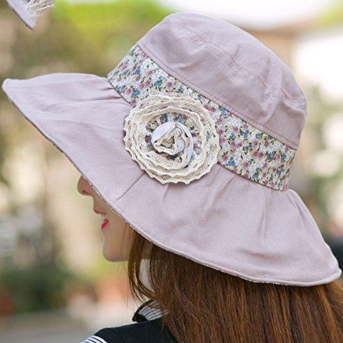 d9e4cf61ad041 Attack Anti-UV Sunscreen Folding Beach Hat Big Hat Cooler Cap Summer Travel  Ladies Cloth Cap