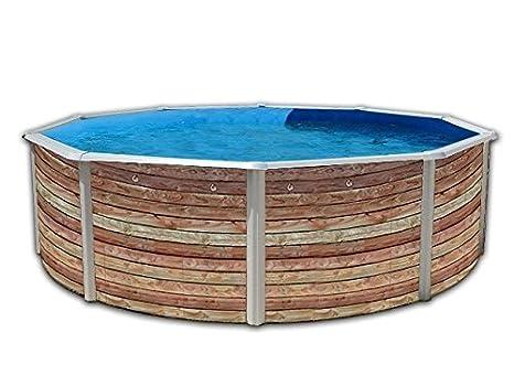 TOI - Piscina PINUS CIRCULAR 460x120 cm Filtro 3,6 m³/h.: Amazon.es: Juguetes y juegos