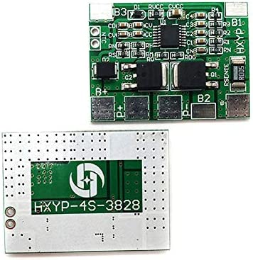 daier 4S 8A 12.8V 18650 32650 LiFePO4 Life Battery Charger BMS Protection PCB Board