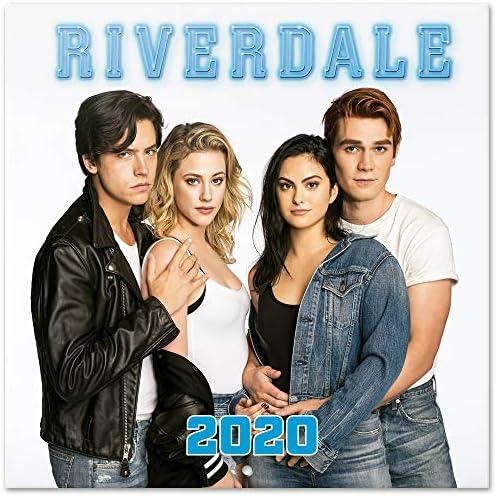 ERIK® Riverdale Wandkalender/Broschürenkalender 2020 30x30cm (aufgeklappt 30x60cm im Hochformat)