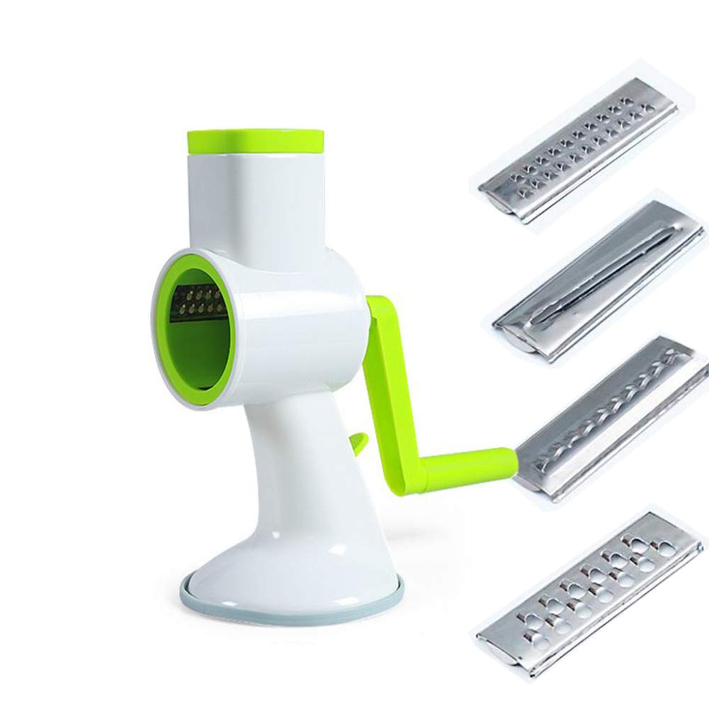 DENGSH Vegetable Slicer,Hand-Operated Roller Vegetable Cutter,Multi-Function Fruit and Vegetable Chopper Practical/As Shown by DENGSH