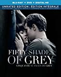 Fifty Shades of Grey [Blu-ray + DVD + Digital Copy]  (Bilingual)