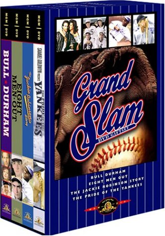 Grand Slam DVD Giftset (Bull Durham / Eight Men Out / The Jackie Robinson Story / The Pride of the Yankees) by TCFHE/MGM