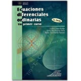 img - for Ecuaciones diferenciales ordinarias un primer curso 2 Edici n book / textbook / text book