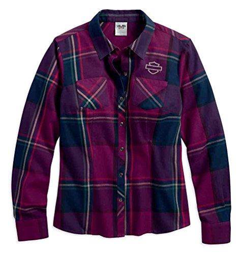 Harley-Davidson Women's Plaid Flannel Shirt