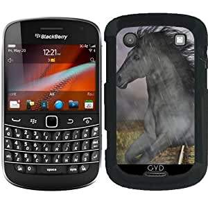 Funda para Blackberry Bold 9900 - Caballo En La Lluvia by Gatterwe