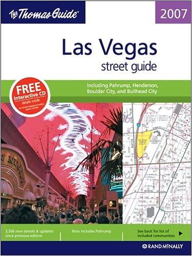 The Thomas Guide Las Vegas Street Guide Including Pahrump - Us paper map thomas guide