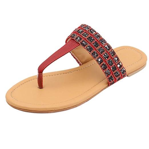 d8ec6ac8d971e Amazon.com: {Minikoad} Women Flat Flip Flops Shoes,Ladies Open Toe ...