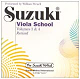 Suzuki Viola School, Vol 3 and 4
