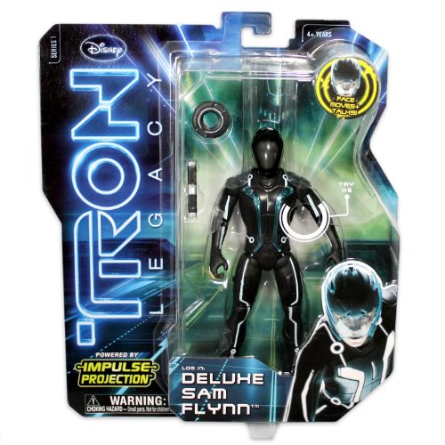 Tron Figure Impulse Projection Sam