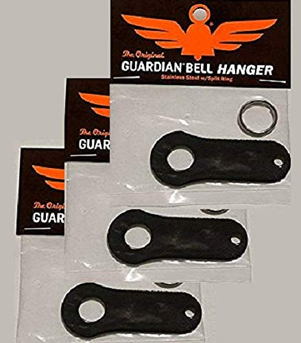 (Guardian® Bell Black Motorcycle Luck Gremlin Ride Bell Hanger Mount (3))