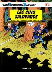 """Afficher """"Les Tuniques bleues n° 21 Les Cinq salopards"""""""
