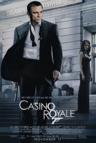 Original Casino - CASINO ROYALE MOVIE POSTER 1 Sided ORIGINAL FINAL 27x40 DANIEL CRAIG
