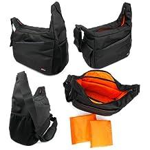 Ultra-Portable Nylon Rucksack With Adjustable Padded Interior & Rain Cover for Nikon Monarch 7 10x30 | Monarch 7 10x42 | Monarch 7 8x30 | Monarch 7 8x42 Binoculars - by DURAGADGET